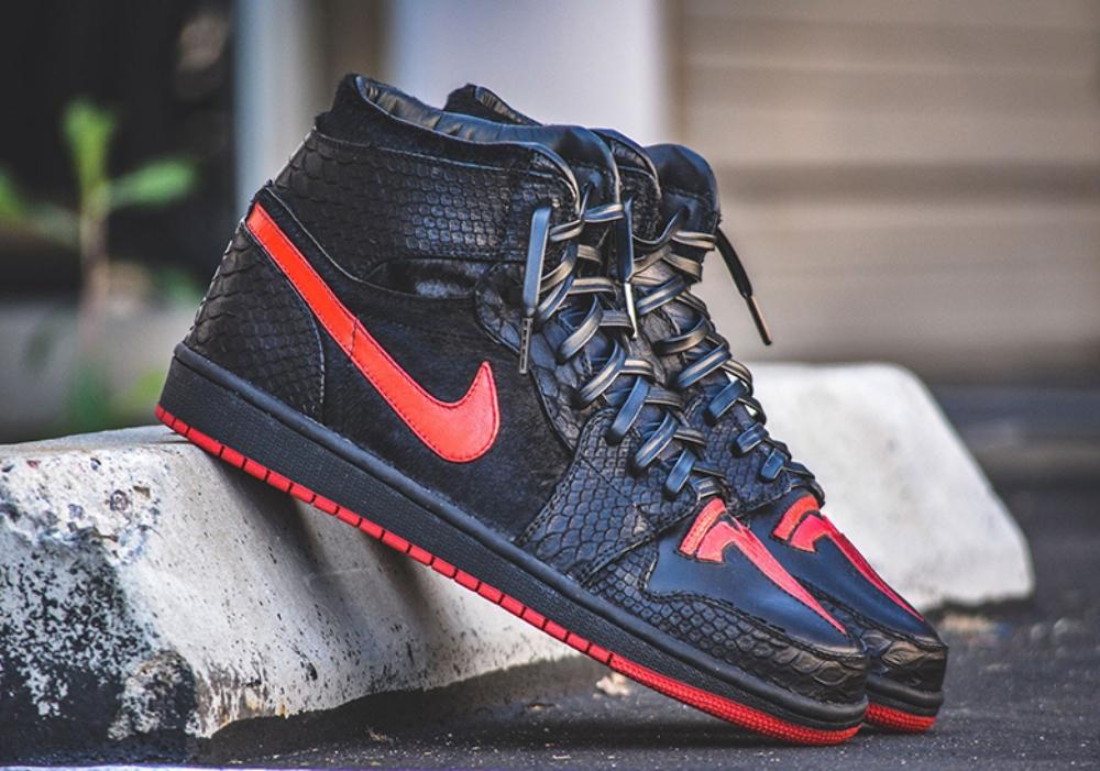Nike Air Jordan Tesla выглядят следующим образом