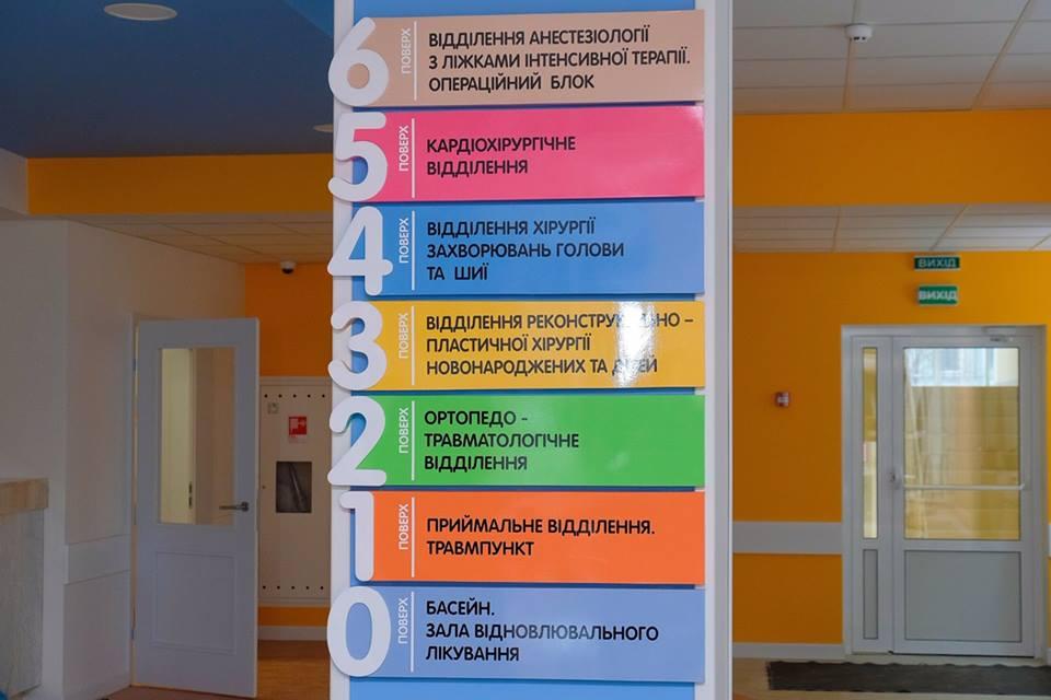 Лучшая детская больница страны построена нами, командой Президента, в Днепре, больница им. Руднева