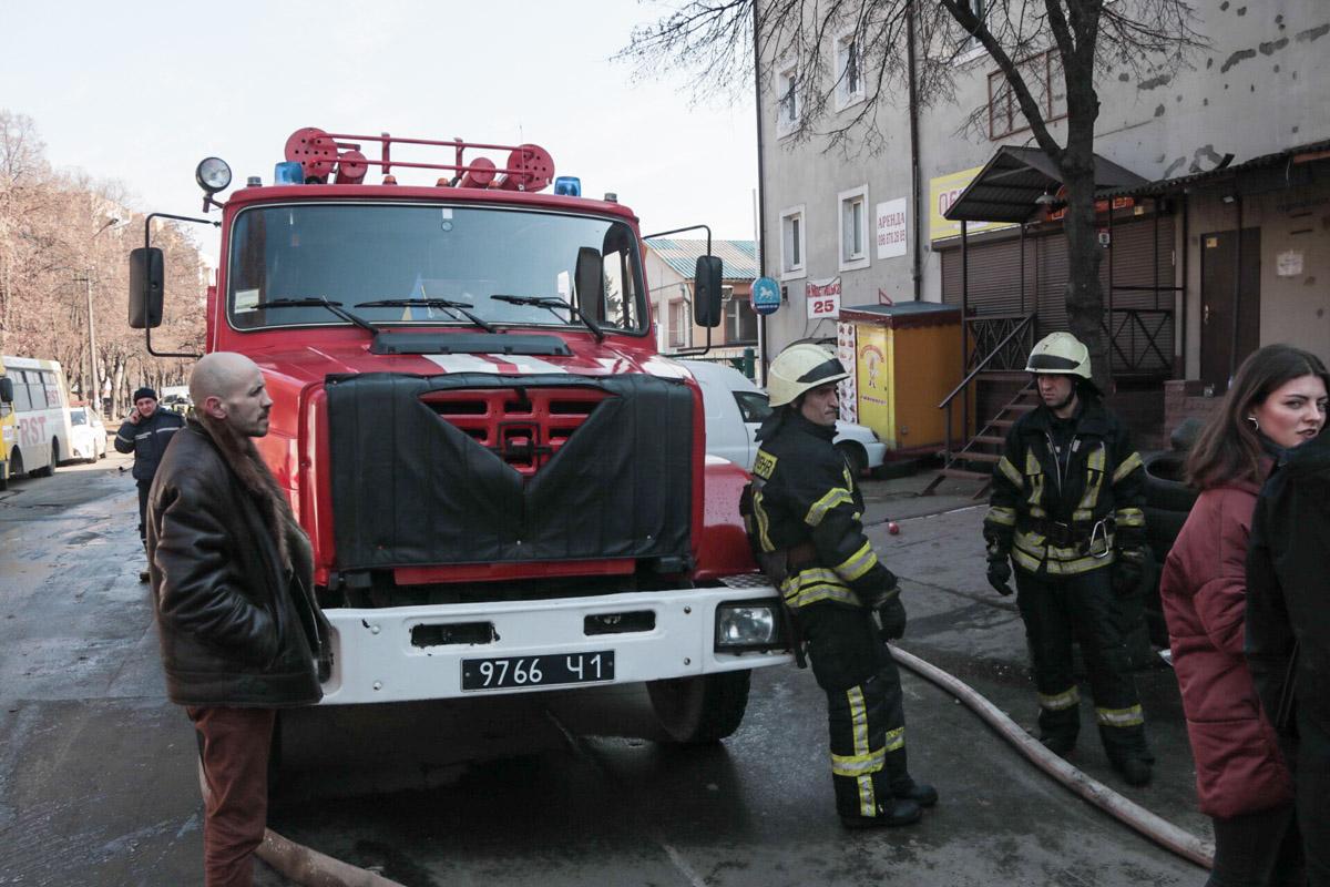Точные причины пожара установит следствие