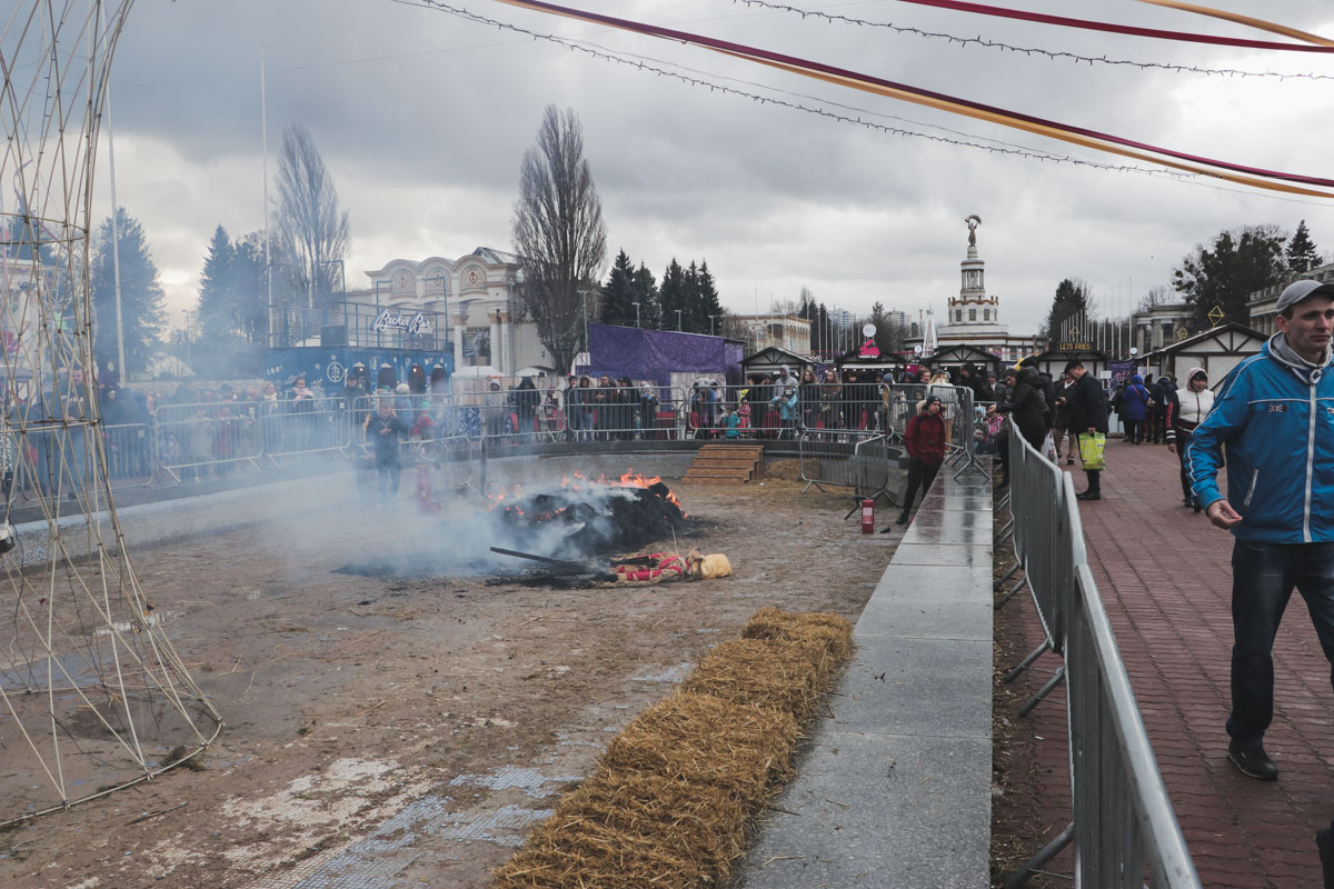 Во время празднования Масленицы на ВДНГ произошел курьез