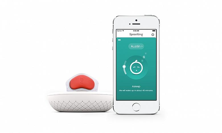Новые датчики - менее громоздкий способ мониторинга новорожденных малышей