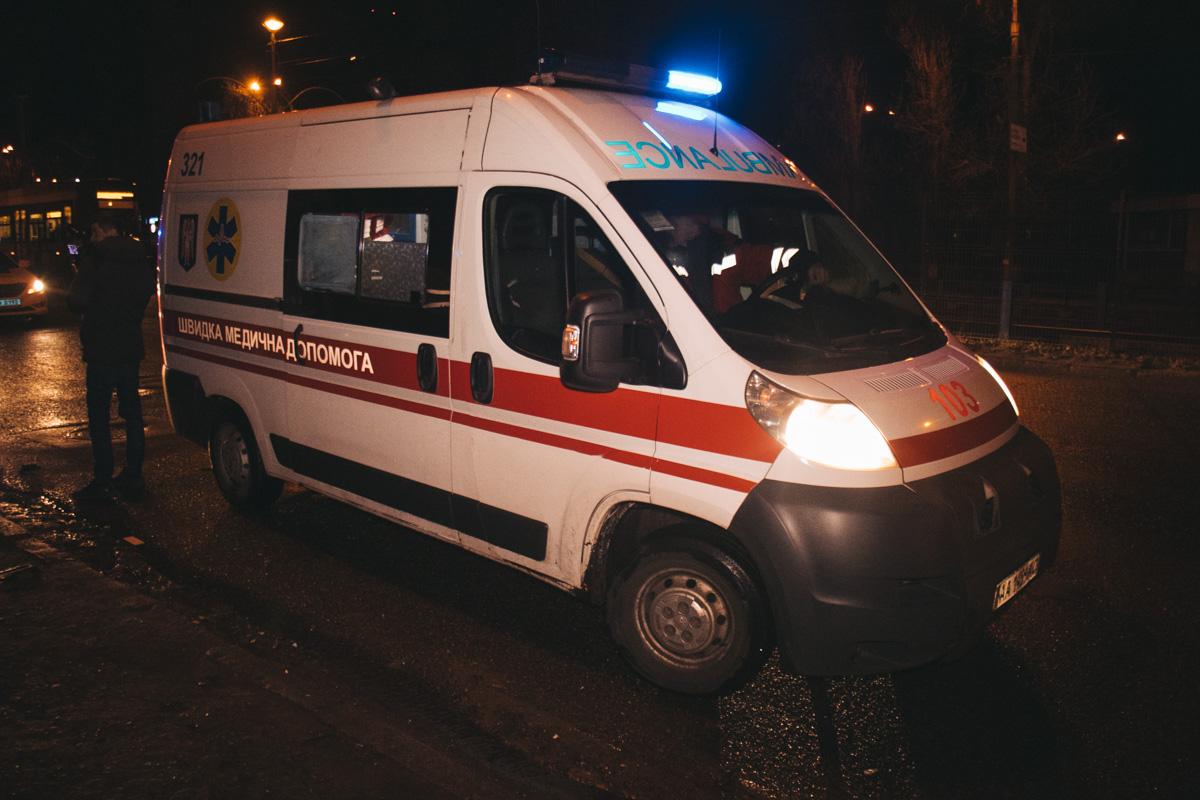 Водителя Fabia и пассажирку Lanos госпитализировали