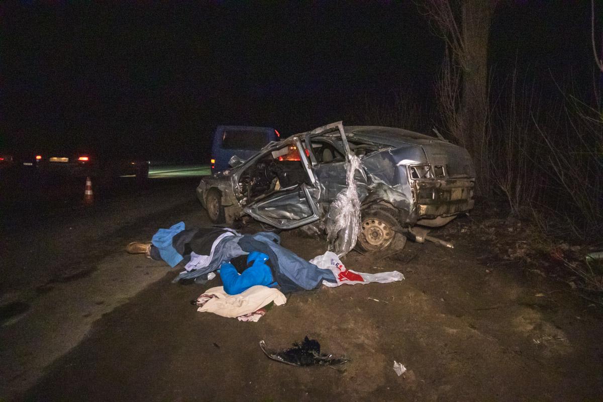 От полученных травм водитель и пассажир ВАЗа скончались на месте. Остальные участники инцидента, к счастью, не пострадали