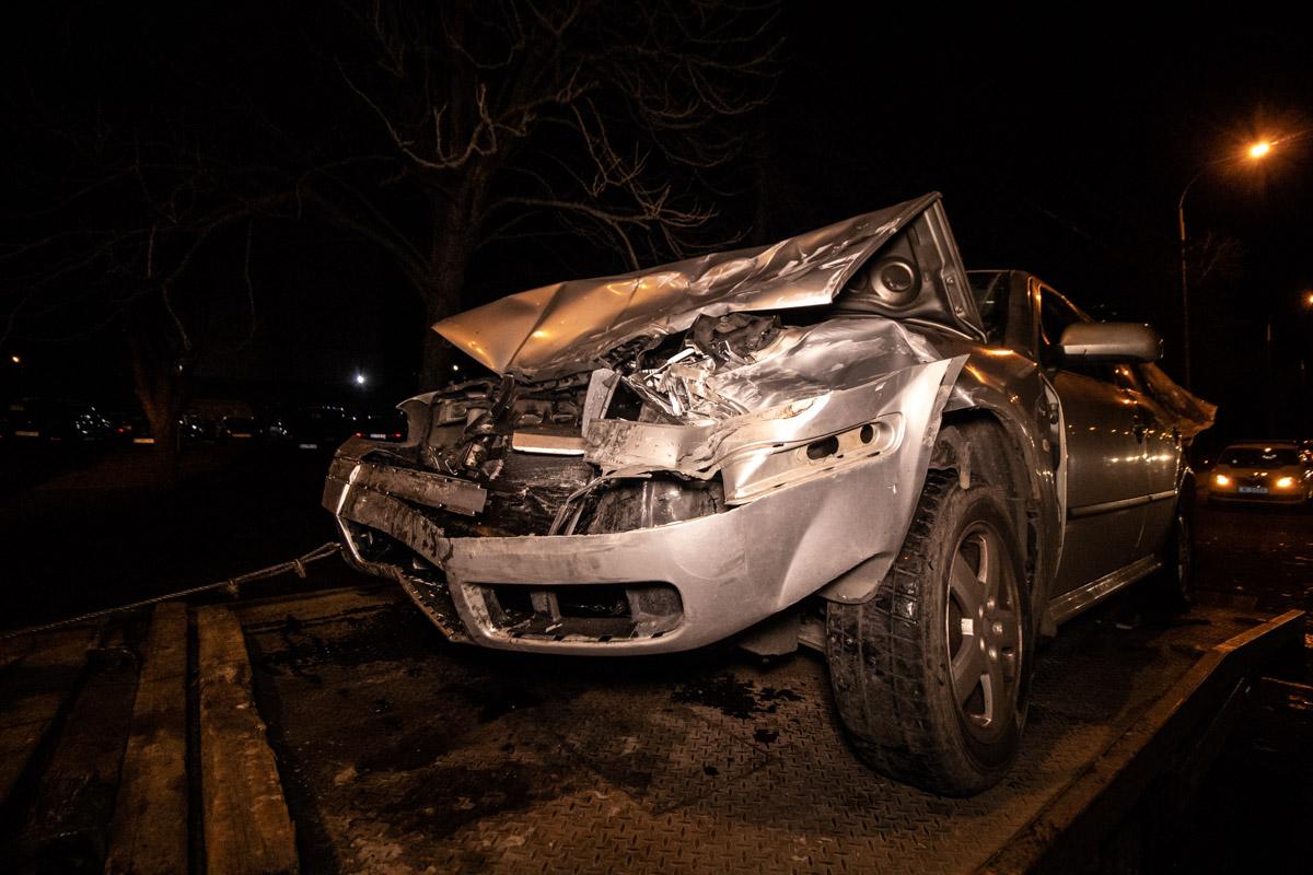 Skoda влетела в Volkswagen и запустила эффект домино