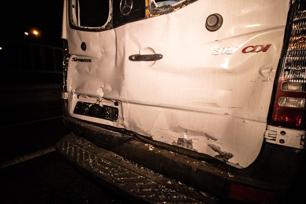 Пассажиры автобуса и оба водителя отделались испугом