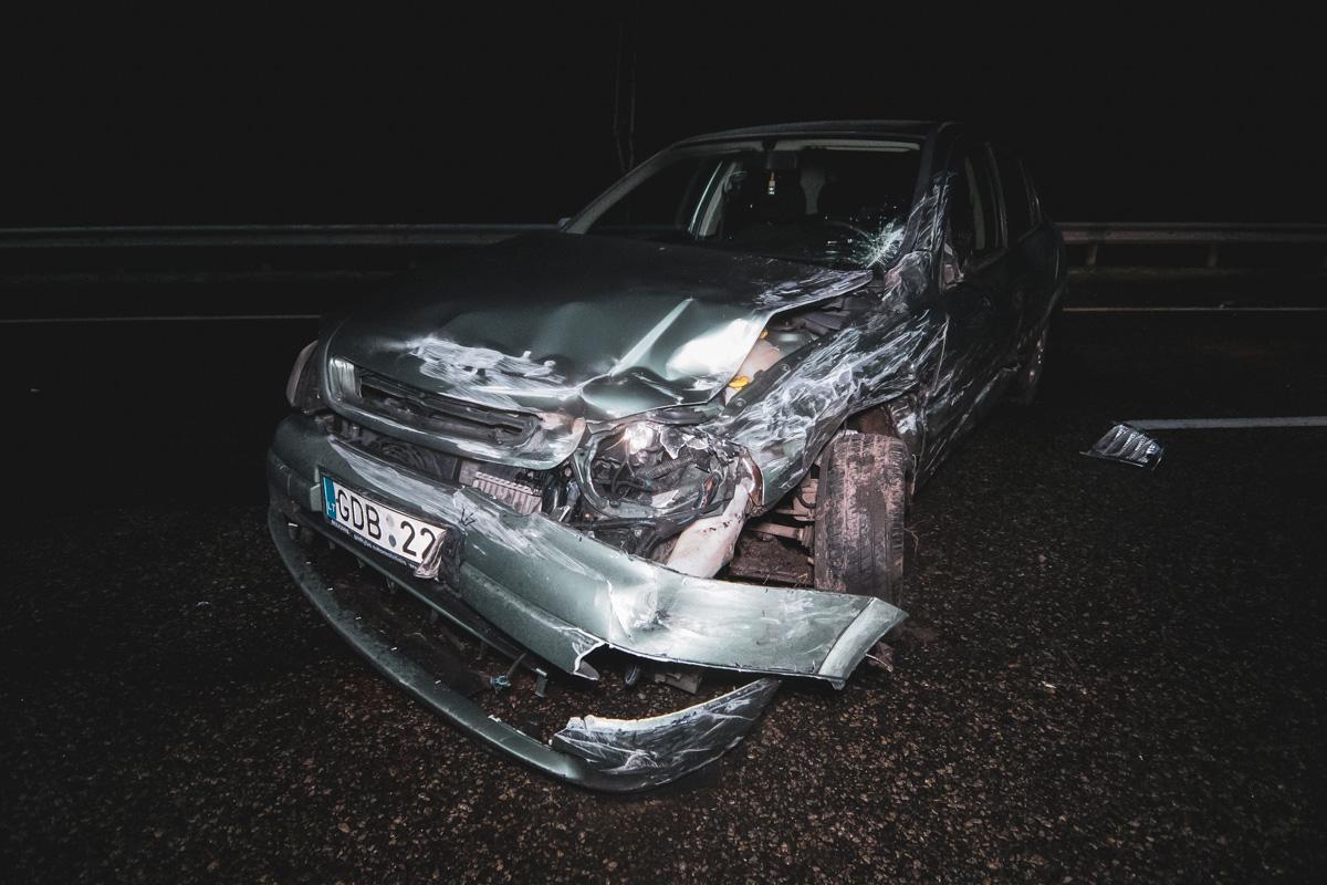 На Бориспольской трассе в сторону Киева произошла массовая авария