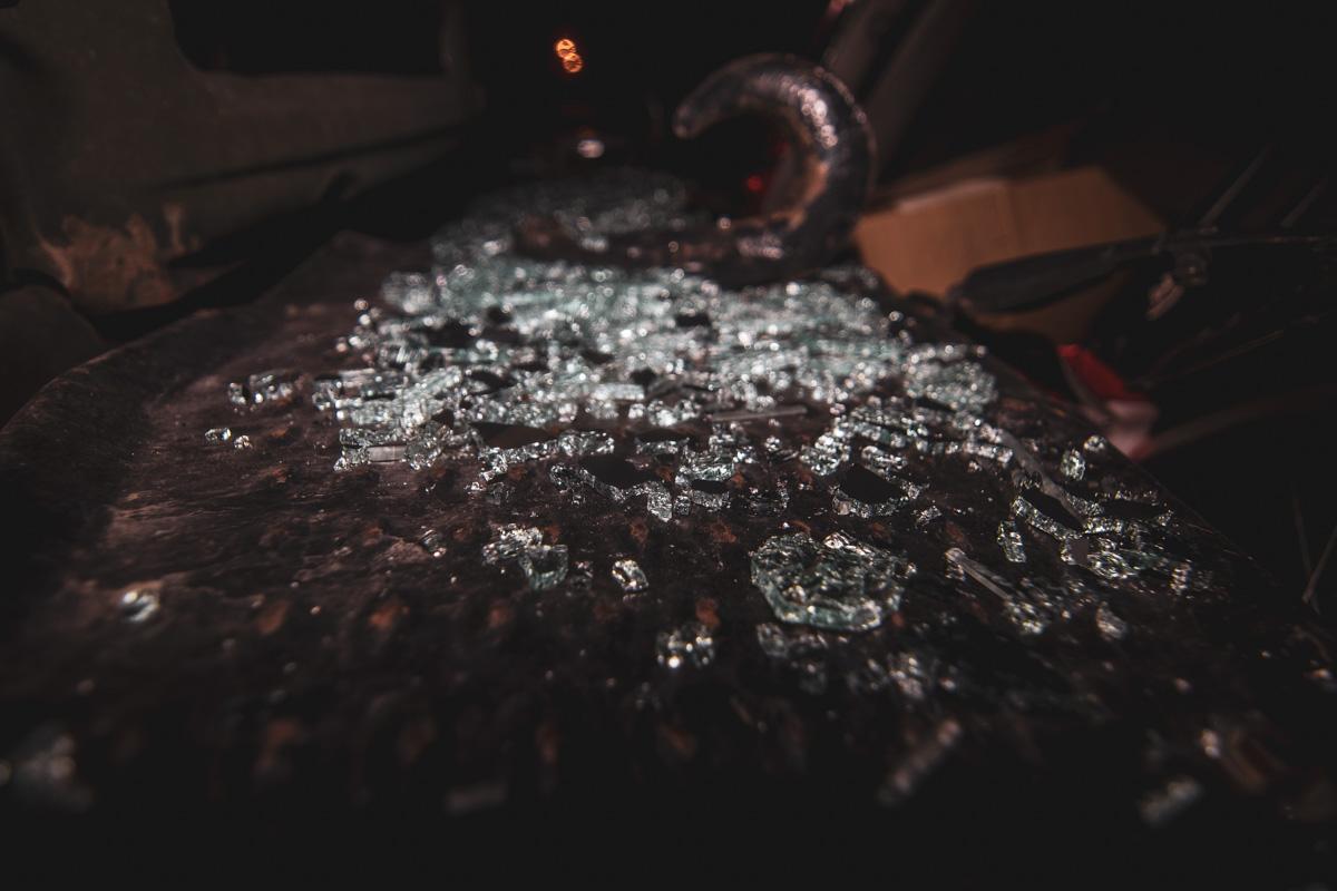 По предварительной информации, причиной аварии стали неисправные тормоза военного автомобиля