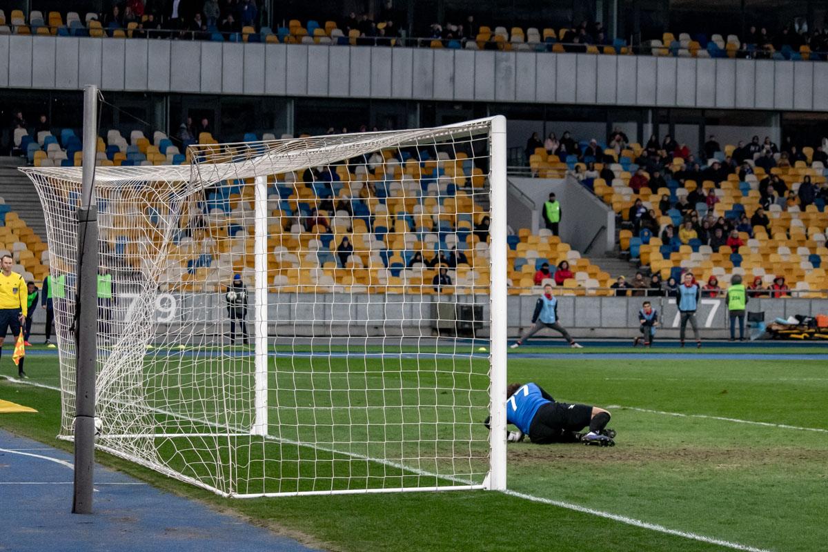 Виктор Цыганков, хоть и с пенальти, забил свой первый мяч в этом году