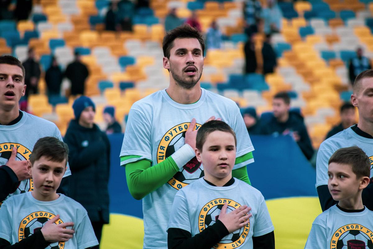 Вернулся в основной состав второй голкипер киевлян Георгий Бущан