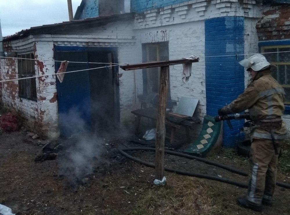 Под Киевом в результате пожара погиб хозяин частного дома