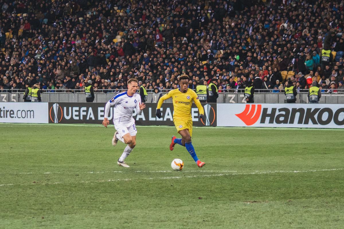 А так Хадсон-Одои забивал последний гол в матче