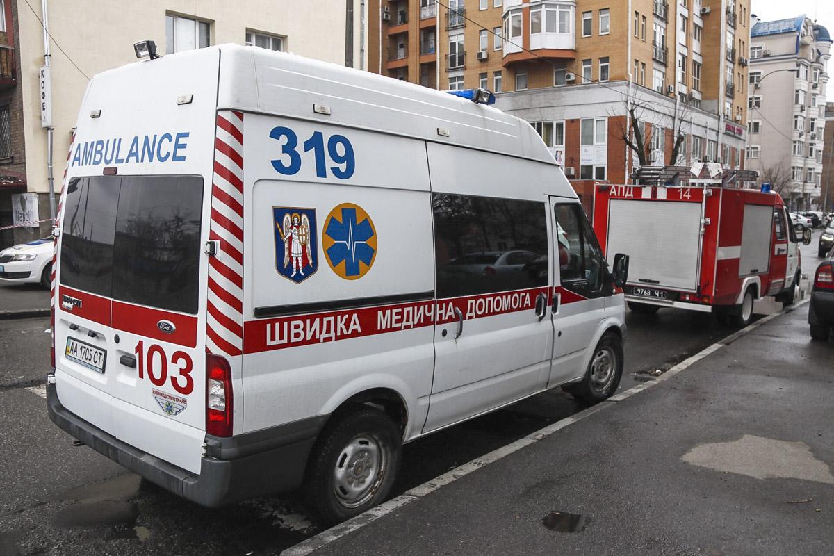 На место прибыли патрульные, медики и сотрудники ГСЧС