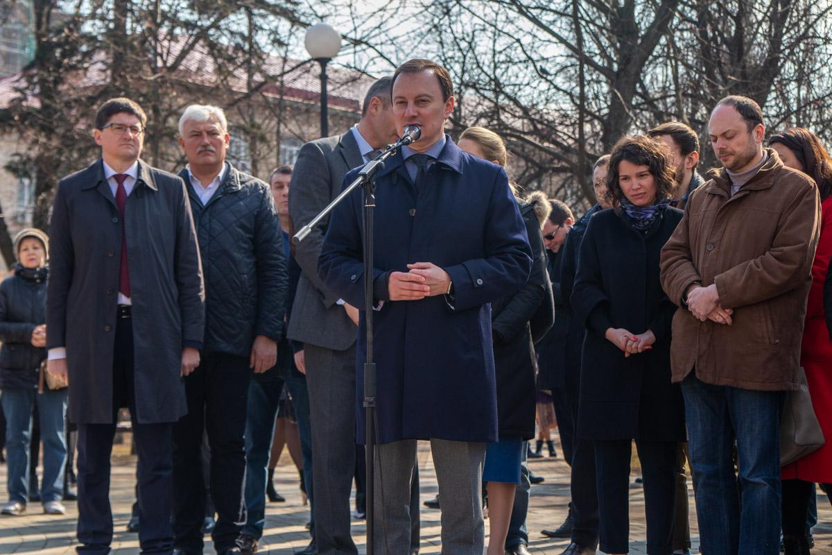 Народный депутат Украины Дмитрий Андриевский выразил уважение действиям российского политика