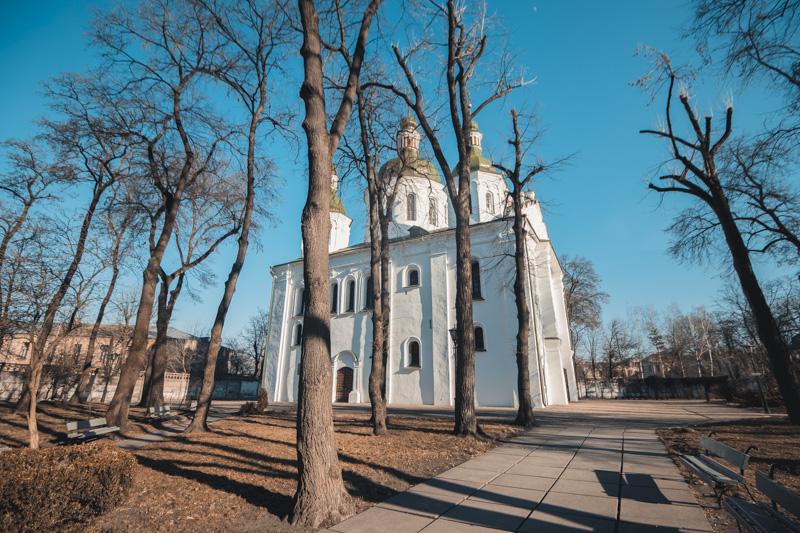 Из окон Кирилловской церкви было видно масштаб трагедии