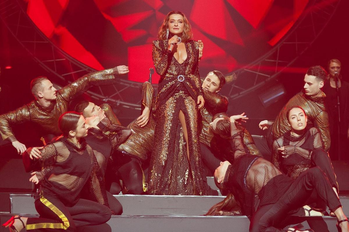 5 марта в Киеве прошел концерт легенды украинской сцены Натальи Могилевской