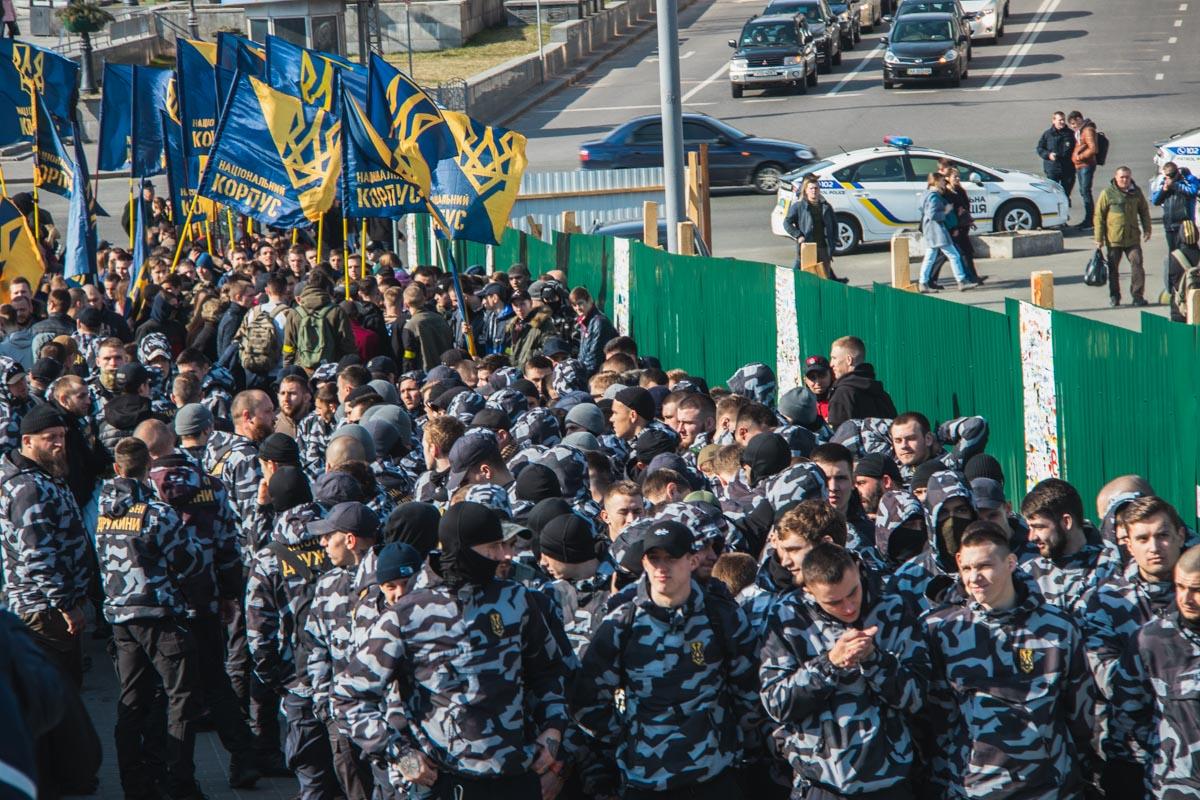 На Майдане Независимости митингующие требовали расследовать хищения в украинской оборонке