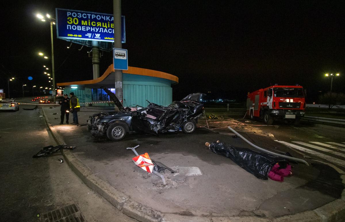 На Северном мосту произошло смертельное ДТП с участие автомобиля Subaru