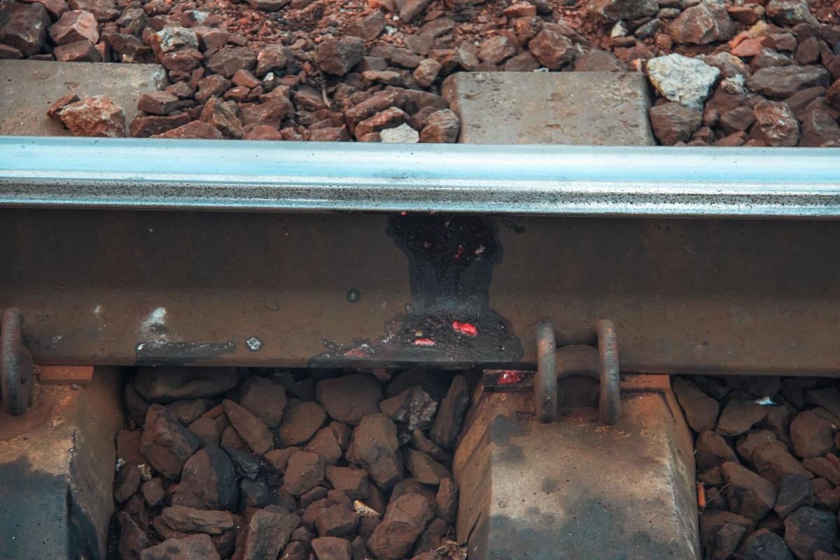 Мужчина, которому на вид было 50-60 лет, вышел на пути и оказался под колесами поезда. Состав оторвал ему голову