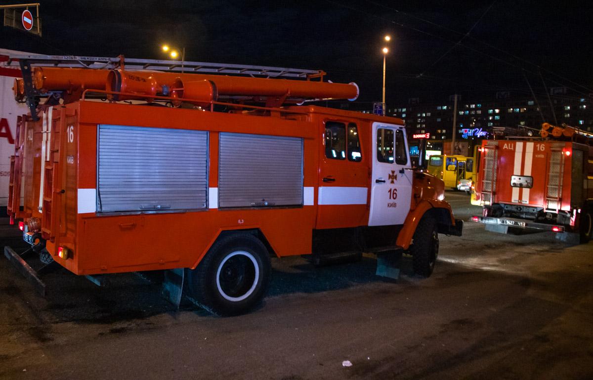 К счастью, огонь не распространился и помощь пожарных не понадобилась