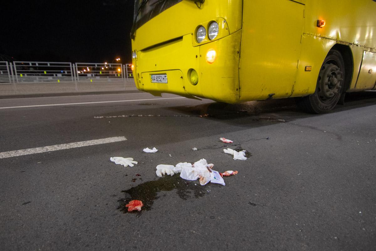 Маршрутный автобус №155 на пешеходном переходе сбил троих человек