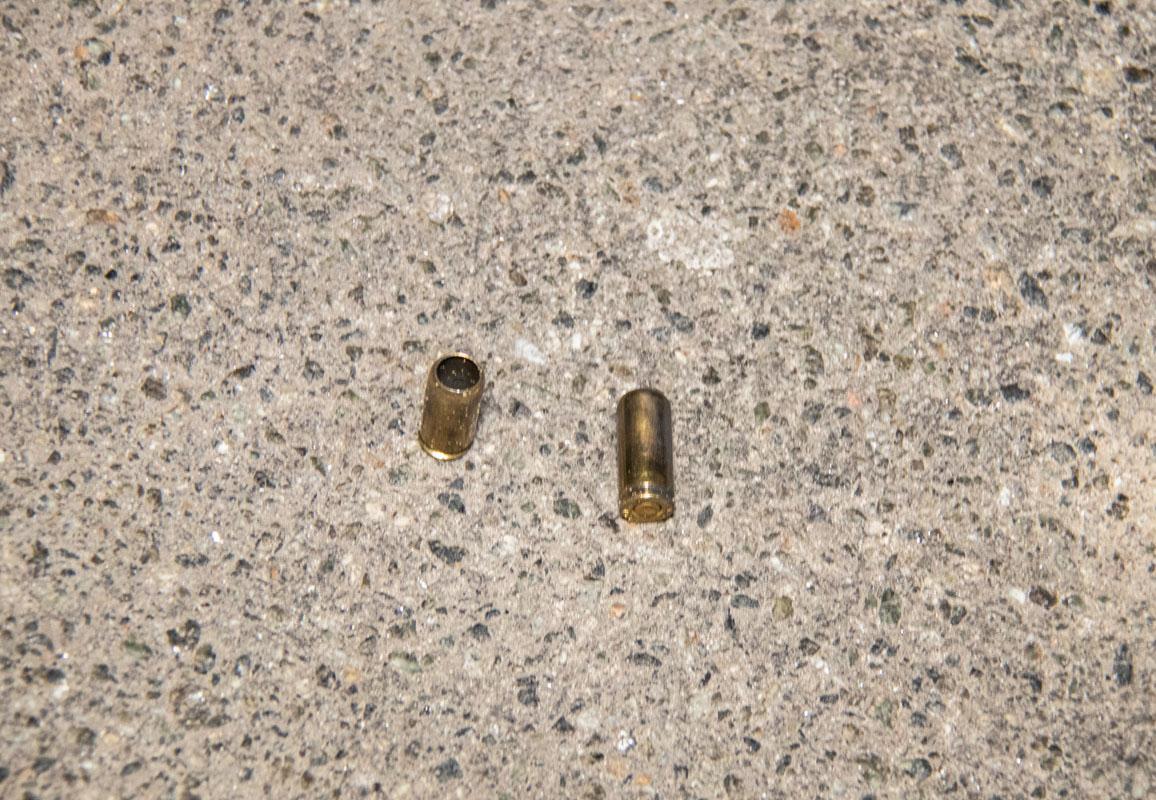Предварительно, огонь велся из пистолетадля стрельбы резиновыми пулями