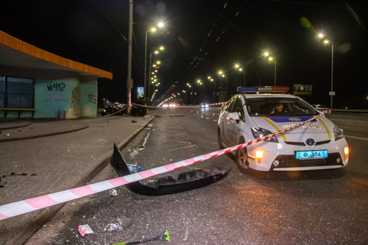 Детали аварии устанавливают правоохранители
