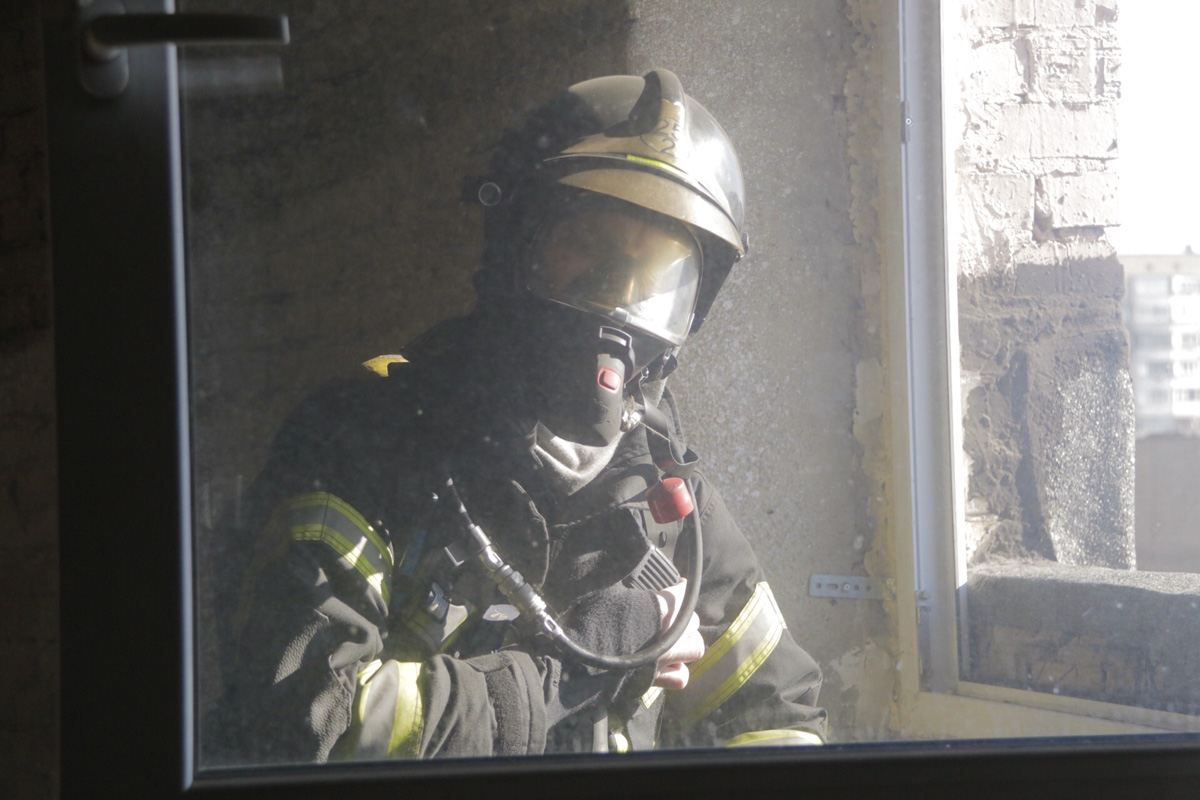 Андрей Гегеха тоже выезжает на пожары