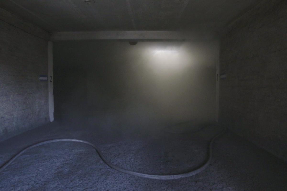 Вроде и пожар пустяковый, но дальше без аппарата дышать не возможно