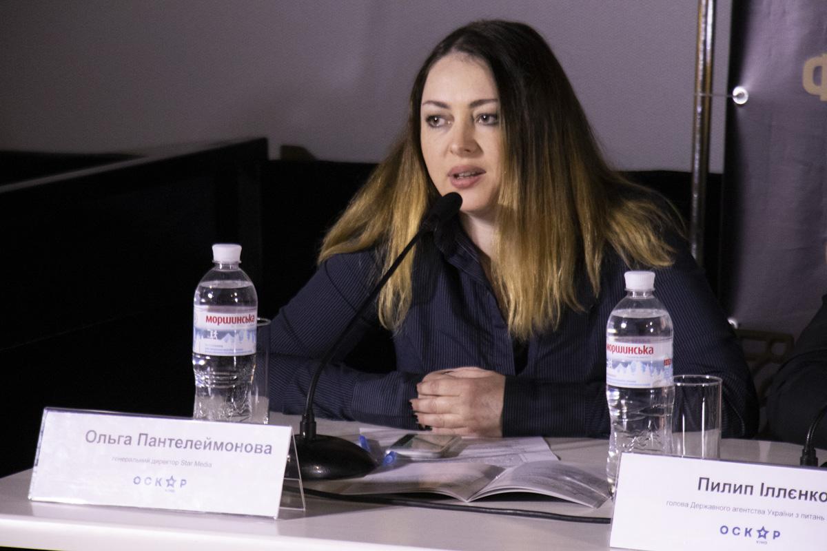 Ольга Пантелеймонова считает, что кинопремия - это лицо украинской киноиндустрии
