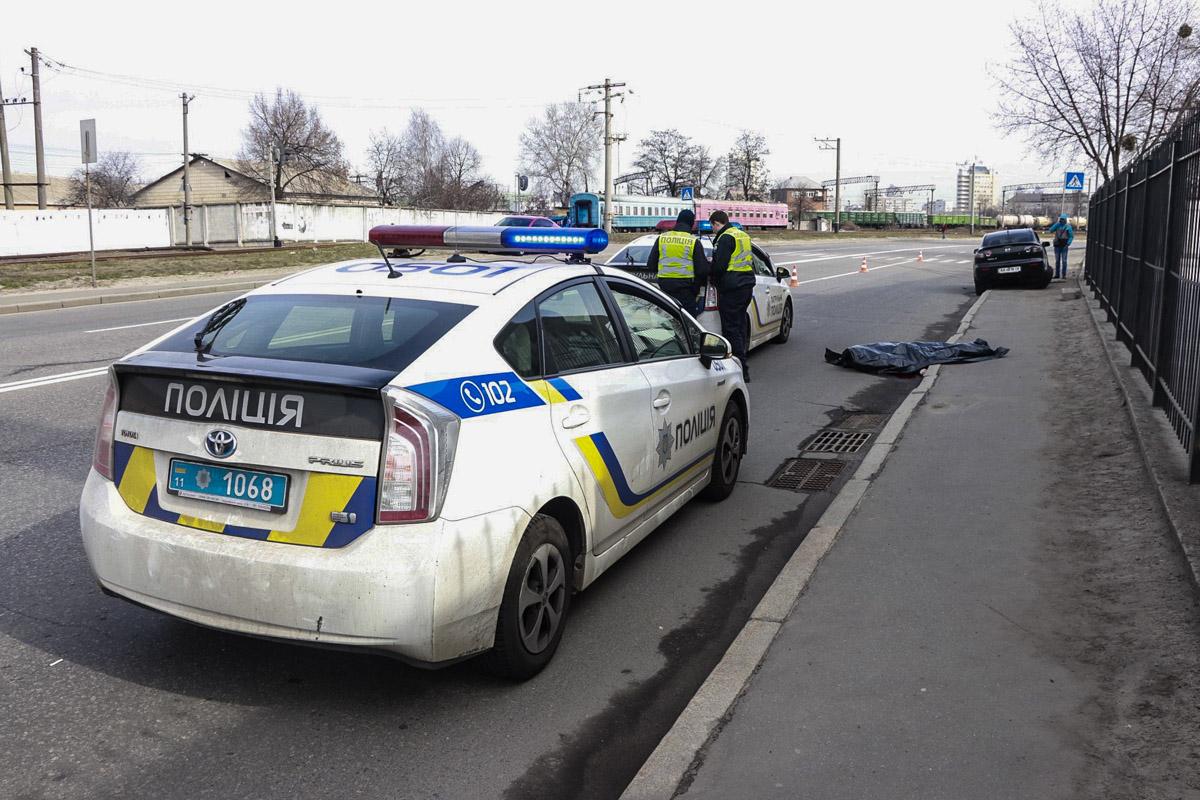 25 марта в Киеве по адресу улица Электриков, 10 произошло смертельное ДТП