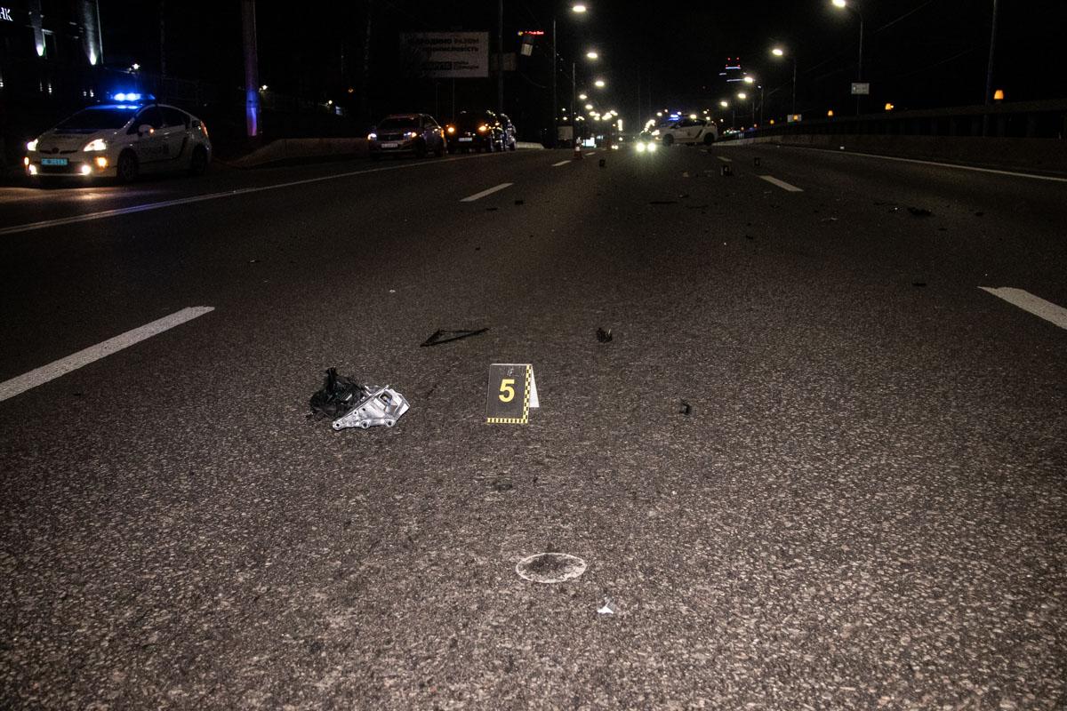 Водитель попыталась уйти от столкновения с пешеходом