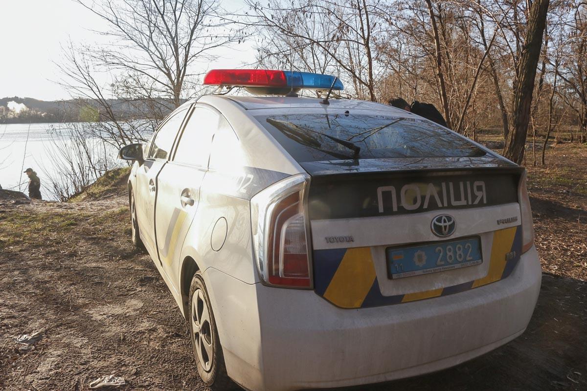 В Киеве на берегу Днепра обнаружили человеческие останки