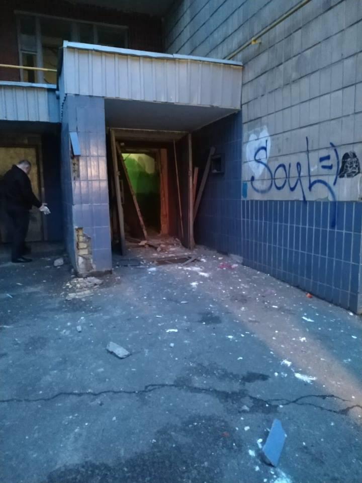 Фото очевидцев с места взрыва