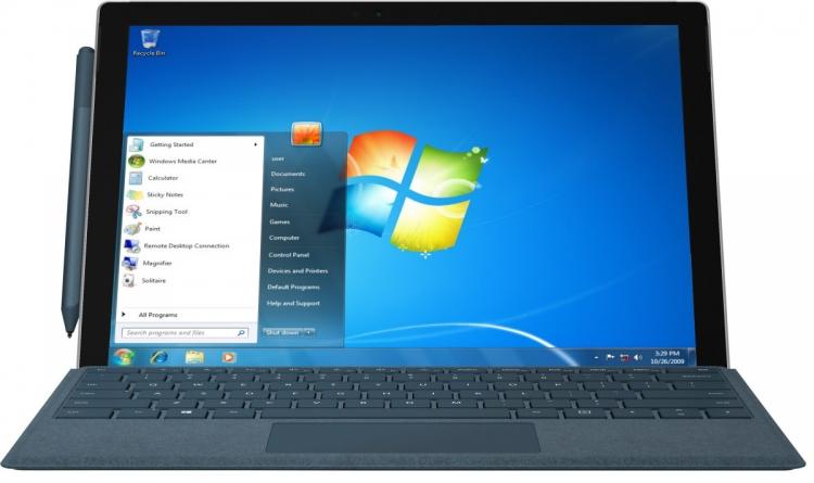 Windows 7 прекратят поддерживать в 2020 году, однако уведомления об этом в апреле