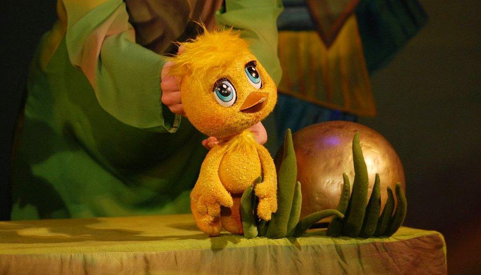 """Спектакль """"Золотой цыпленок"""" приглашает и взрослых, и детей в Театр кукол"""