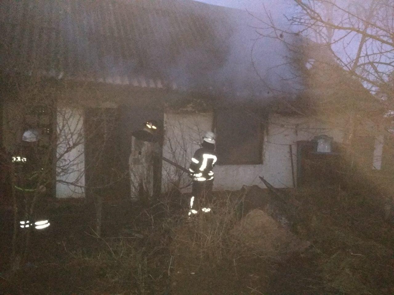 Под Киевом в сарае сгорел мужчина