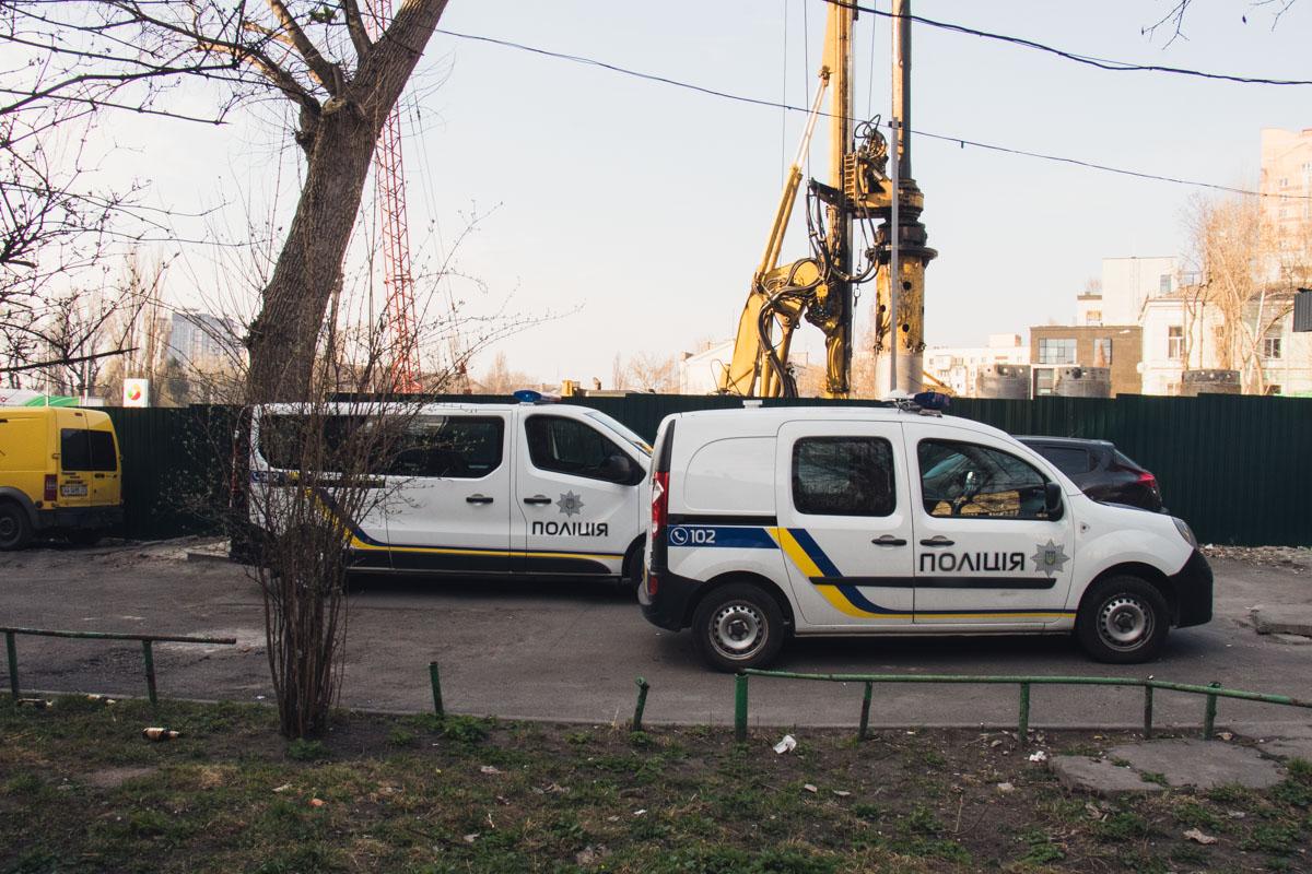 Происшествие случилось в Печерском районе столицы