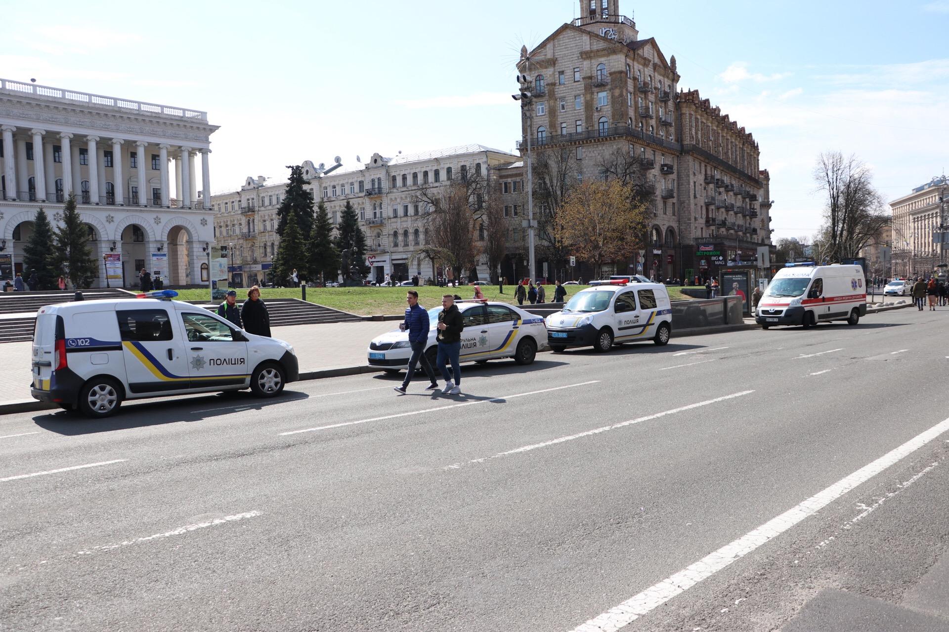 Посетителей и сотрудников ТРЦ эвакуировали