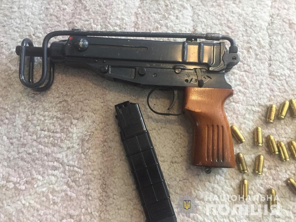 "Правоохранители изъяли пистолет-пулемет ""Scorpion"""