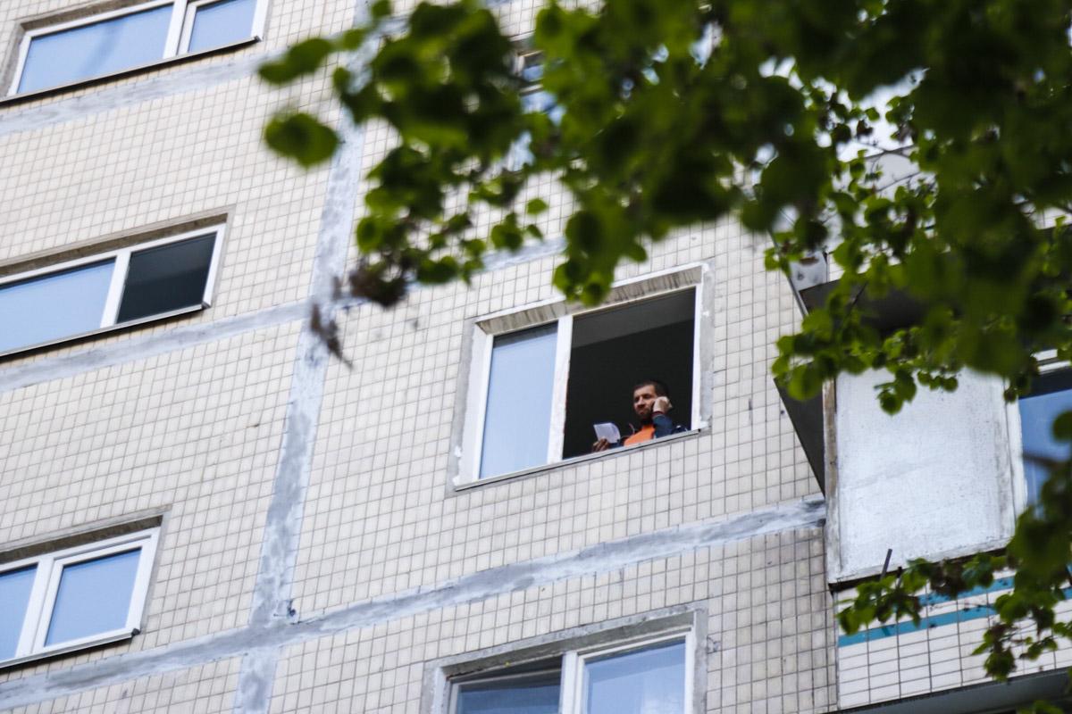 Падение произошло с высоты 6 этажа