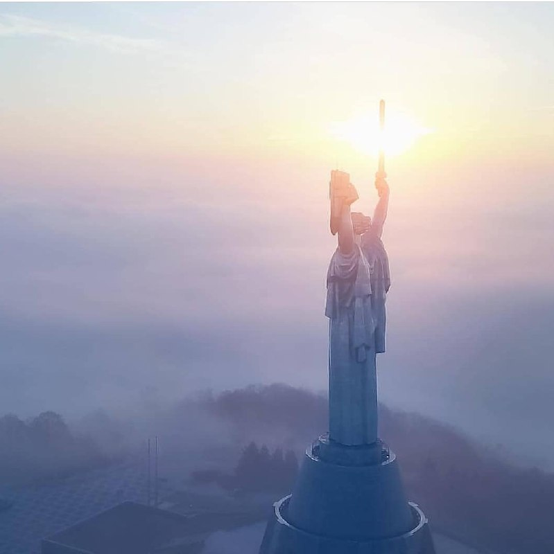 Самые прекрасные виды открываются на рассвете с высоты птичьего полета. Фото: kyiv.today.ua