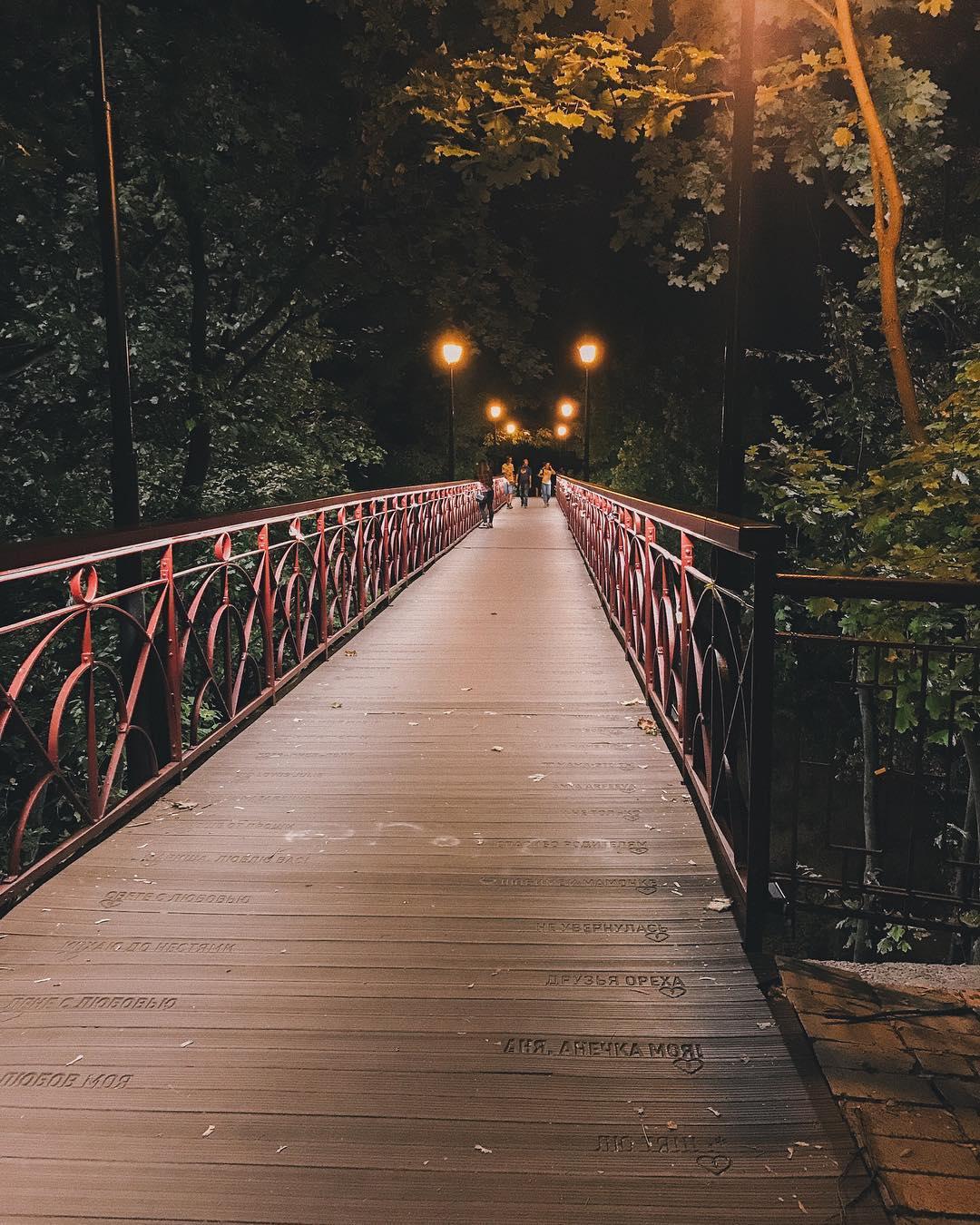 Труднее всего в жизни запомнить, какой мост надо перейти, а какой надо сжечь. Фото: @ig_shevchenko