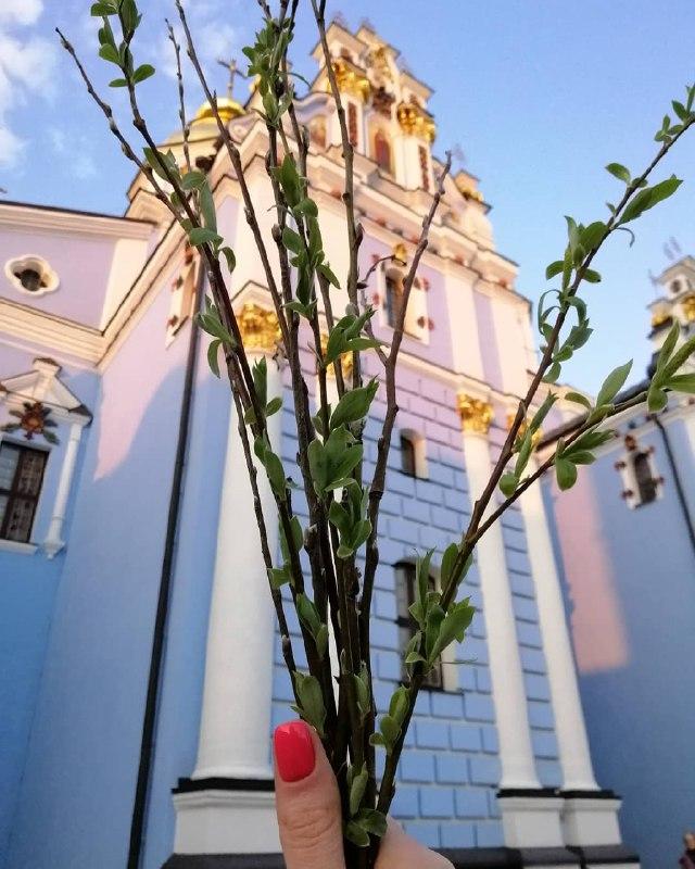 Немного красоты, снятой на Вербное воскресенье. Фото: hlopushech_ka