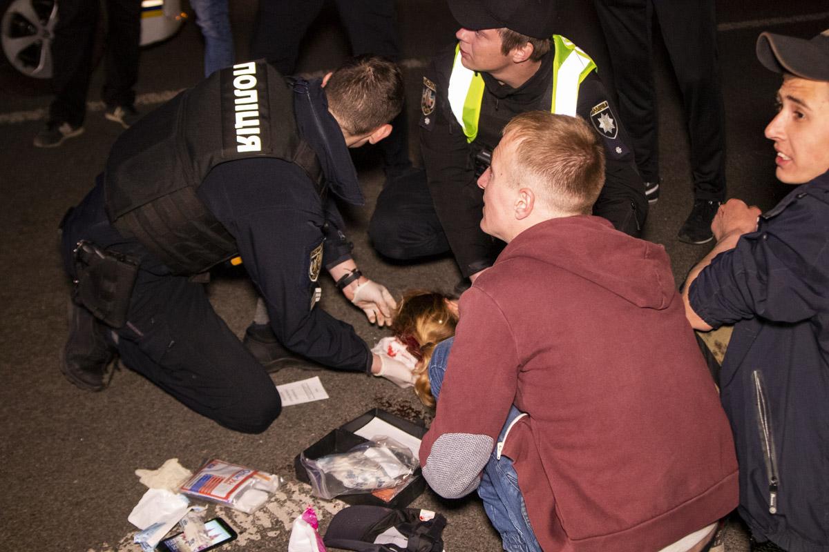 В воскресенье, 21 апреля, в Киеве на Майдане Независимости произошел трагический инцидент