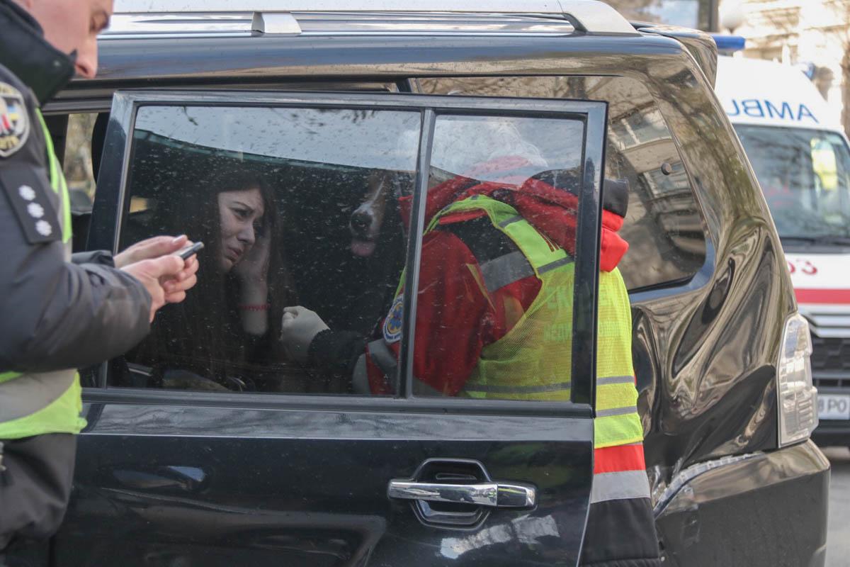 Медики осмотрели водителей и пассажиров и констатировали, что все в порядке