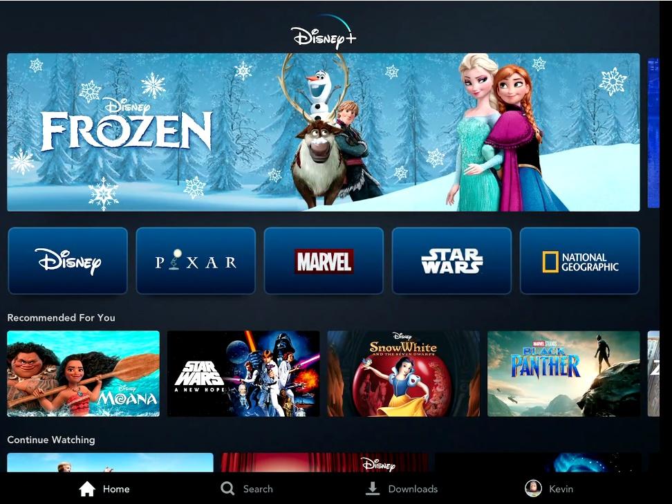 Благодаря почти монопольному положению на рынке со старта у Disney+ будет мощный пакет контента.