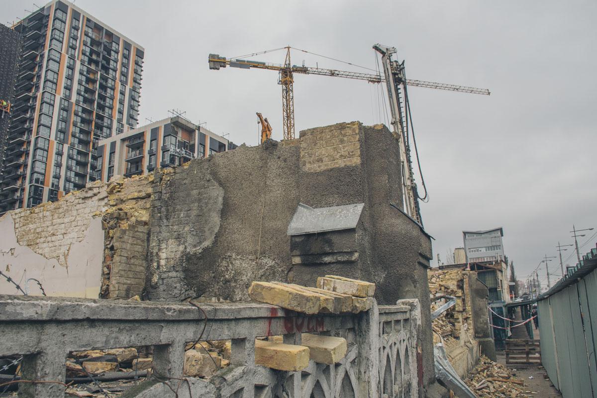 На улице Большая Васильковская в Киеве исчезло еще одно историческое здание