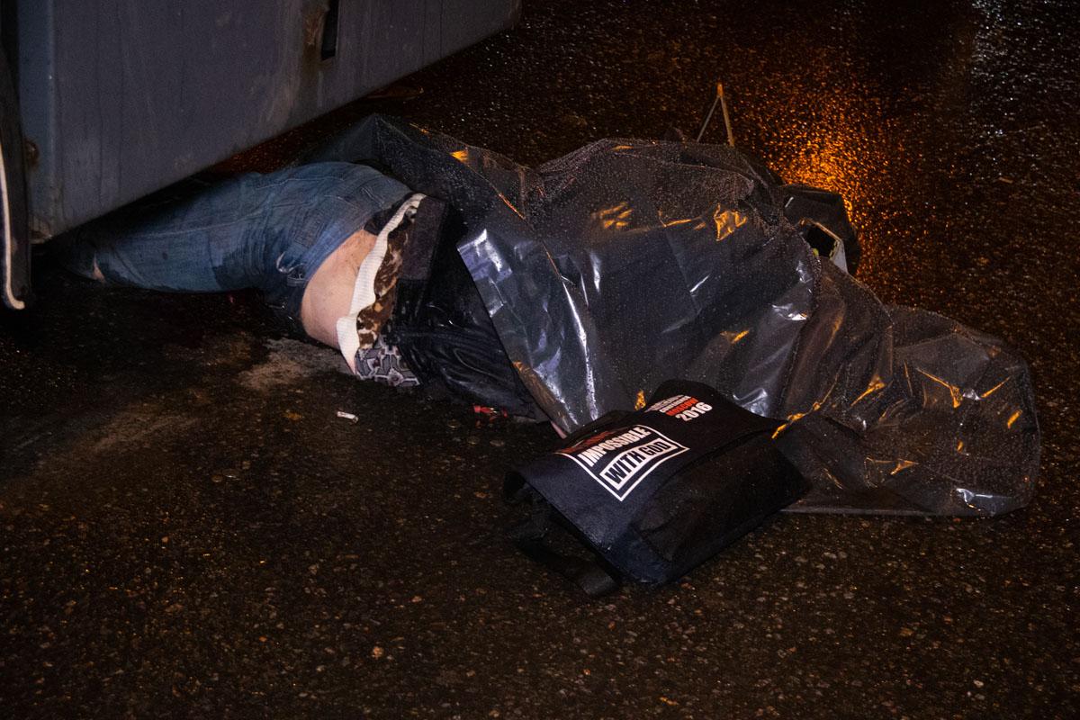 К несчастью, от полученных травм пешеход скончался на месте