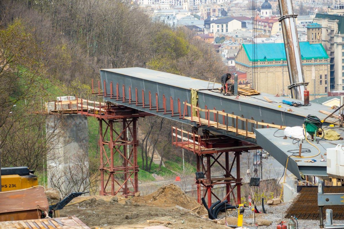 В данный момент строительство уже вышло на финишную прямую