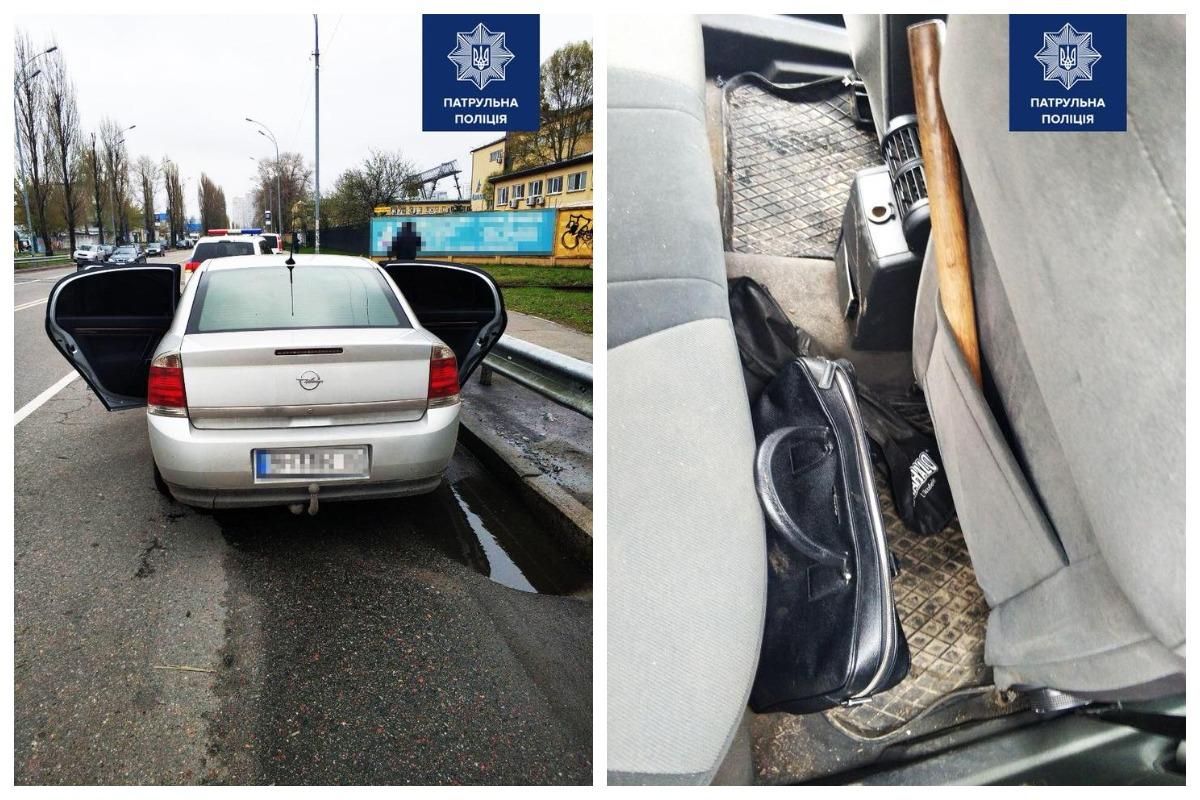Двое мужчин избили прохожего, отобрали у него личные вещи и скрылись на автомобиле Opel